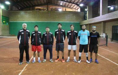تیم ملی تنیس کشورمان راهی پاکستان شد