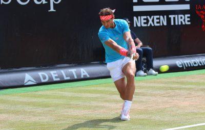 آموزش تنیس - بکهند نادال