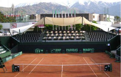 مربی تنیس در باشگاه انقلاب
