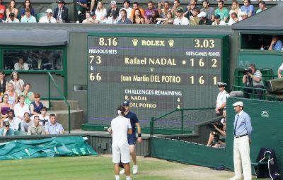 امتیاز دهی در تنیس