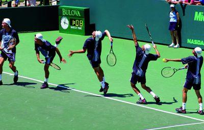 آموزش تنیس - آموزش سرویس تنیس